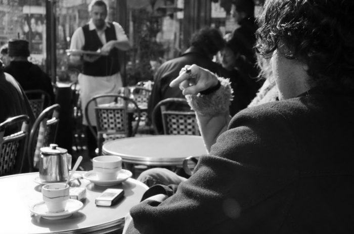Кофе в парижских кафе