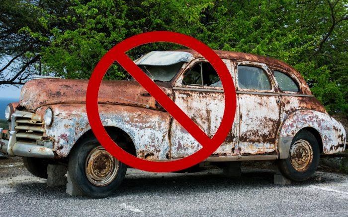 Old car ban